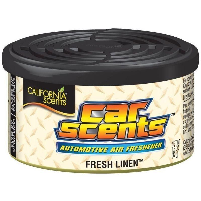 California Car Scents (Čerstvá bielizeň) Fresh linen linge frais