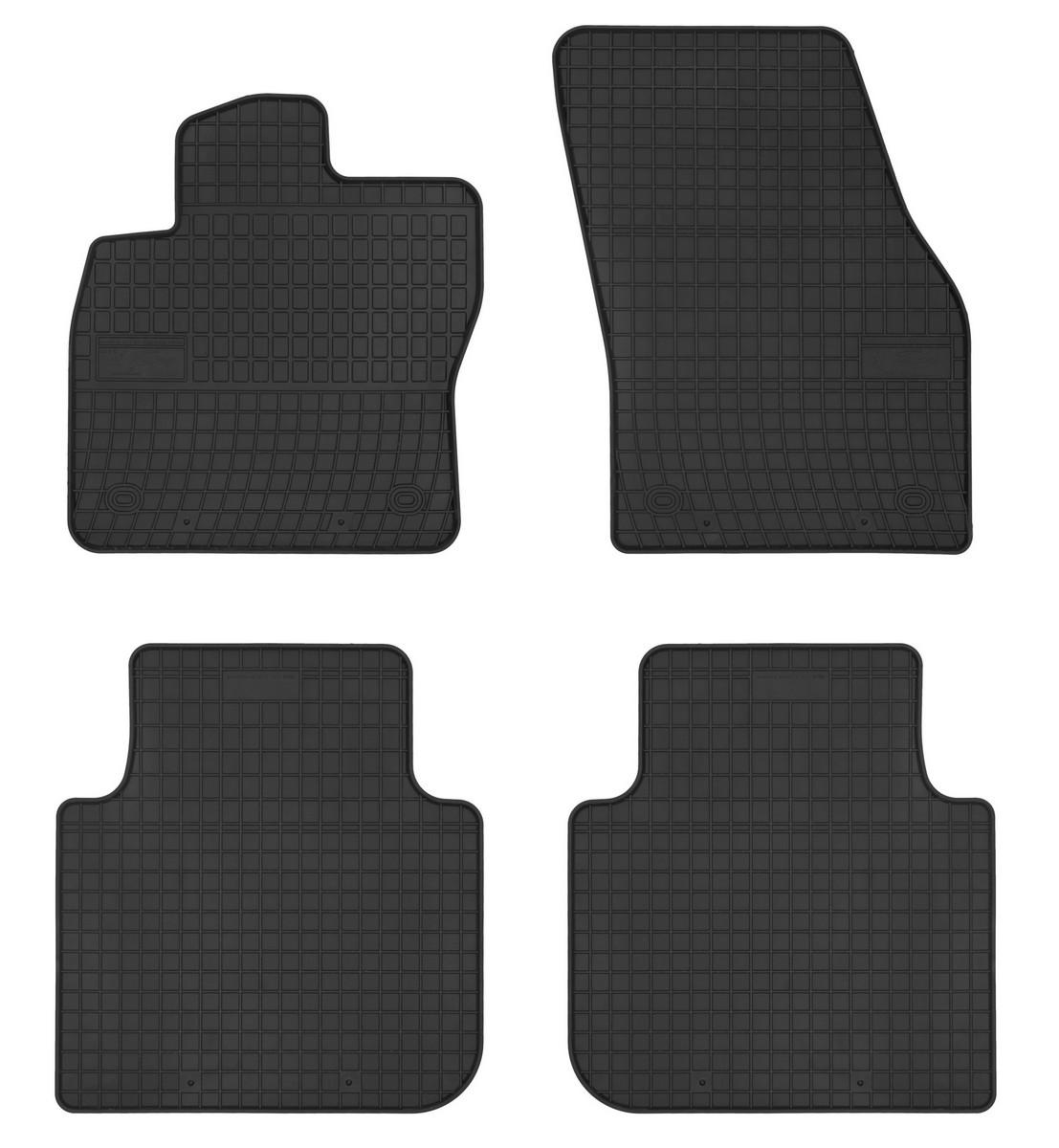 Gumové rohože do auta, Škoda Kodiaq, 2016->, 5 sedadlový