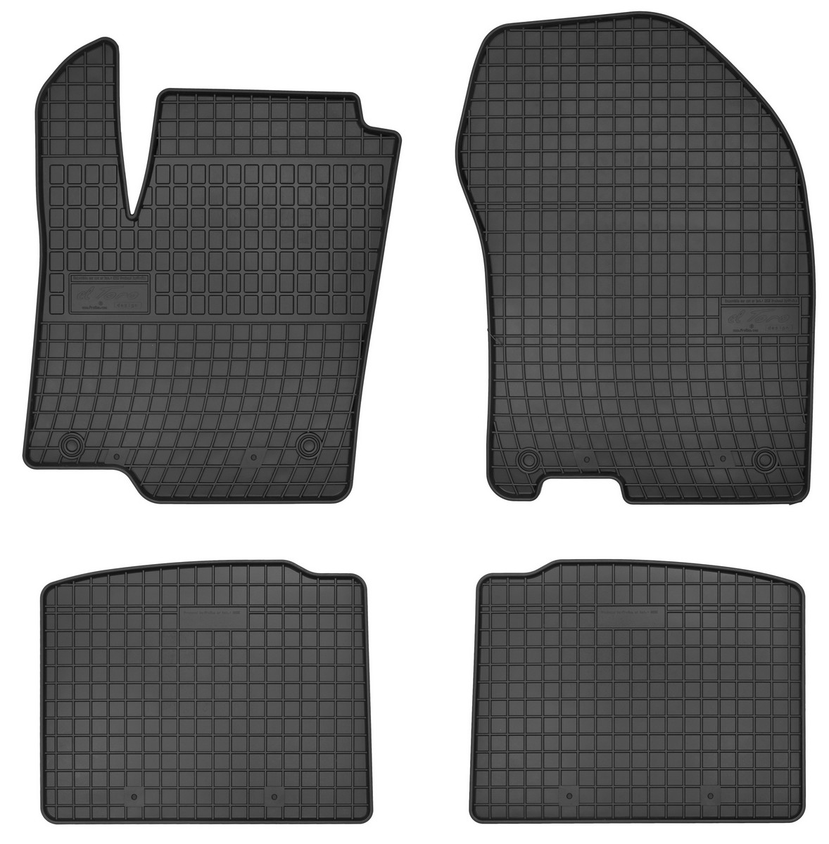 Gumové rohože do auta, SUZUKI SX4 II S-CROSS, 2013->