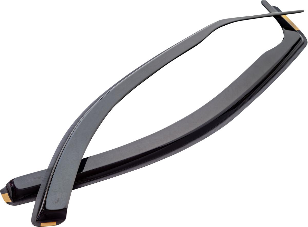 Vetrné clony - ofuky okien (deflektory, plexi), BMW 3-er, E46, 3 dvér., Compact, 04/2001->