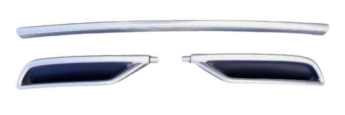 Imitace koncovky výfuku s lištou na nárazník, Škoda Octavia IV, 2020-