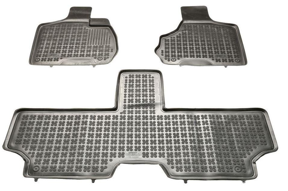 Gumové rohože so zvýšeným okrajom, Chrysler VOYAGER IV, 2001->2006; 5 sedadiel