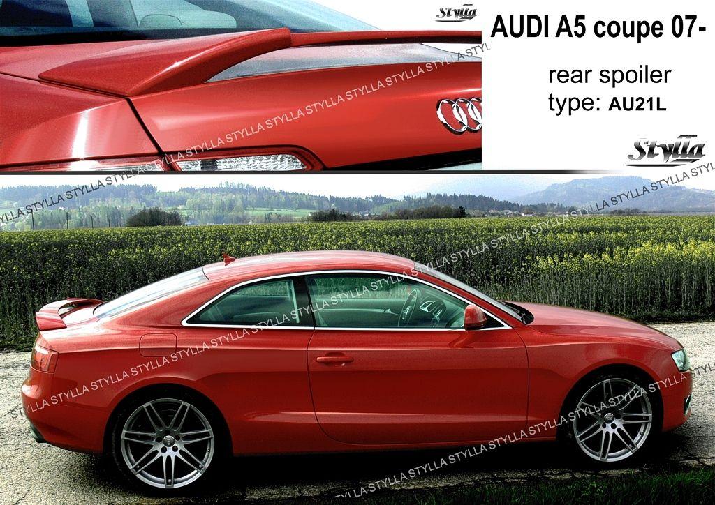 Spoiler na kapotu, Audi A5 I, 2007-2016