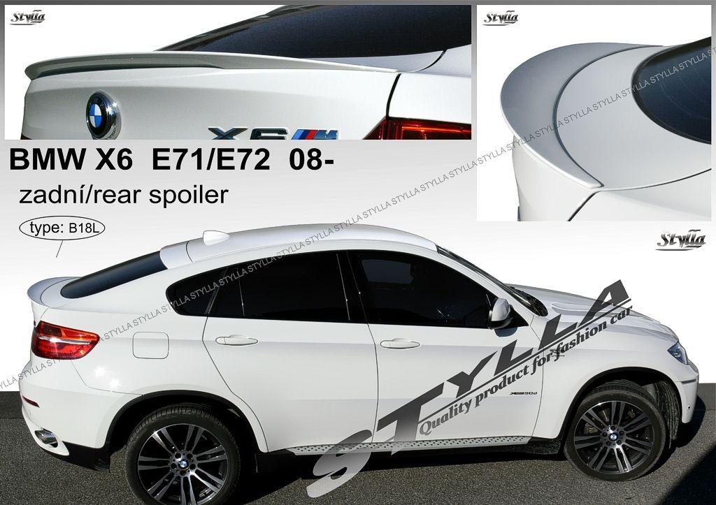 Spoiler zadných dverí spodný, BMW X6 E71 E72, 2008-2014