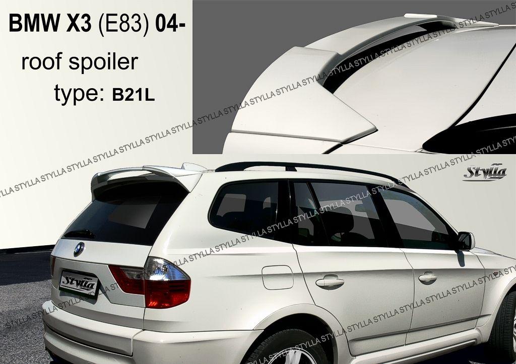 Spoiler zadných dverí horný, BMW X3 E83, 2003-2010