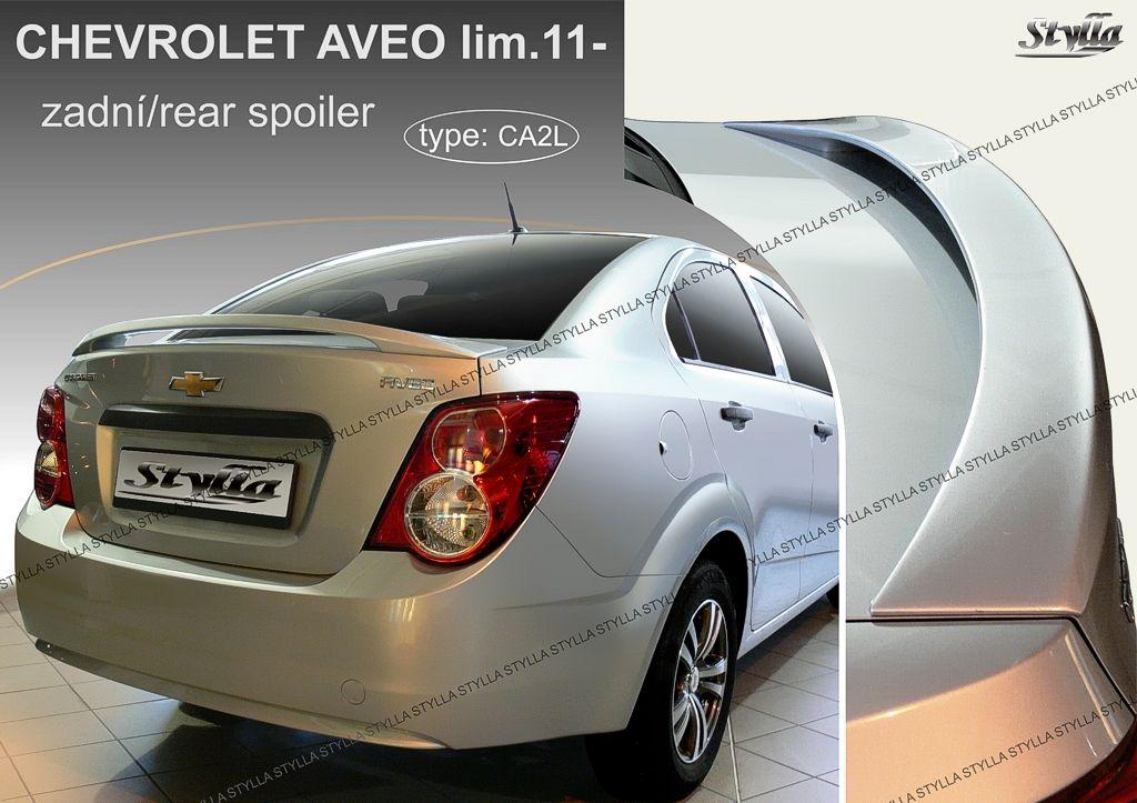 Spoiler na kapotu, Chevrolet Aveo 2011-