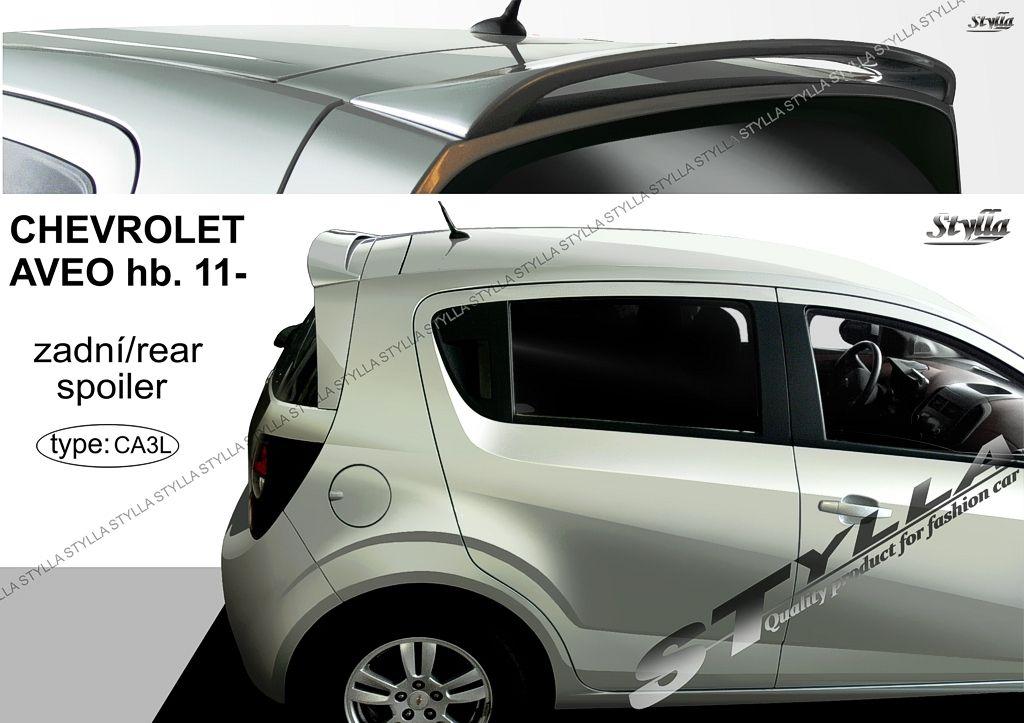 Spoiler zadných dverí horný, Chevrolet Aveo 2011-
