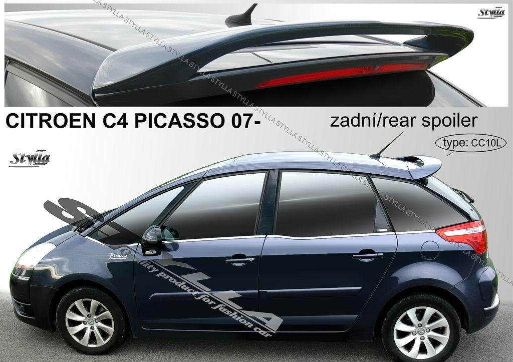 Spoiler zadných dverí horný, Citroen C4 Picasso, 2006-2013