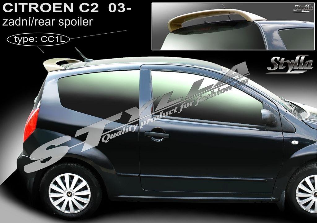 Spoiler zadných dverí horný, Citroen C2, 2003-201