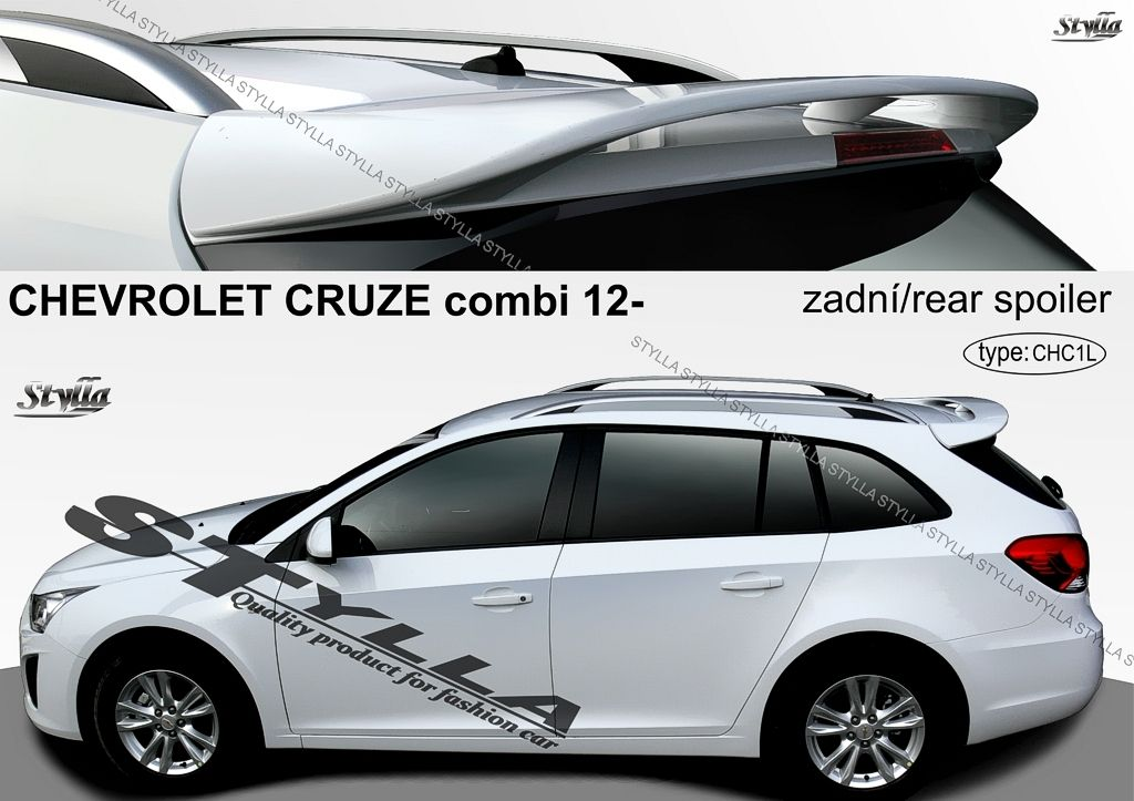 Spoiler zadných dverí horný, Chevrolet Cruze I, 2012-2016