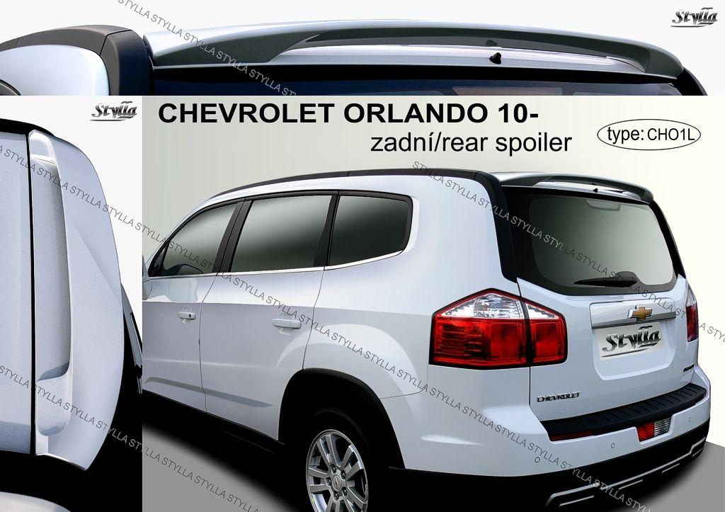 Spoiler zadných dverí horný, Chevrolet Orlando, 2010-
