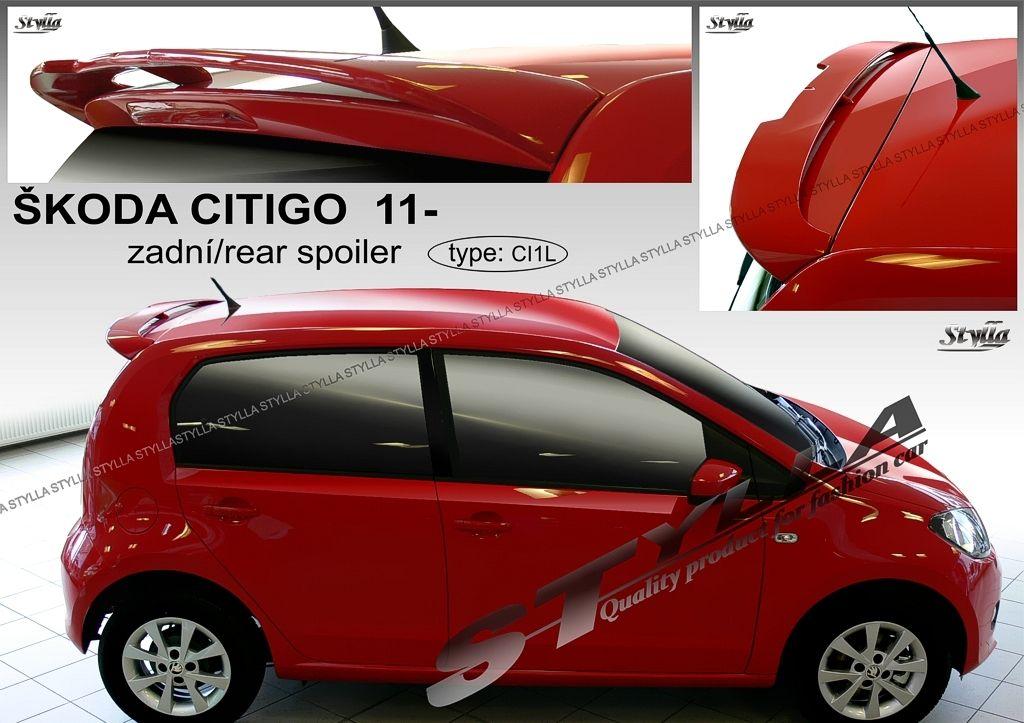 Spoiler zadných dverí horný, Škoda Citigo, 2011-