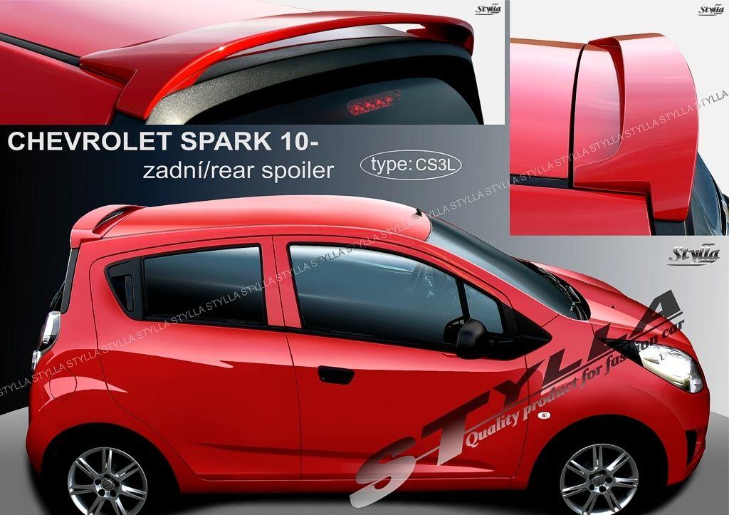 Spoiler zadných dverí horný, Chevrolet Spark III, 2009-