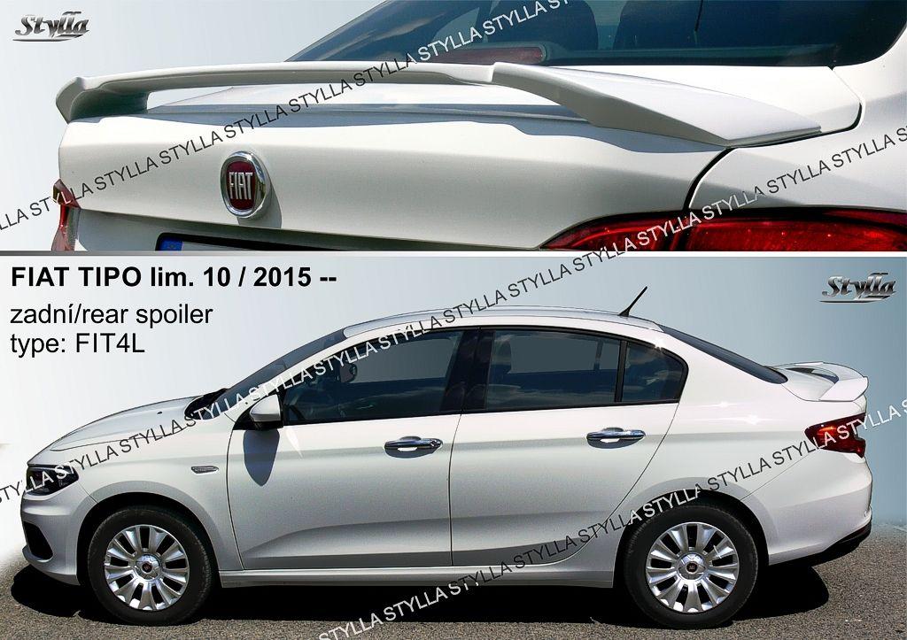 Spoiler na kapotu, Fiat Tipo, 2015-