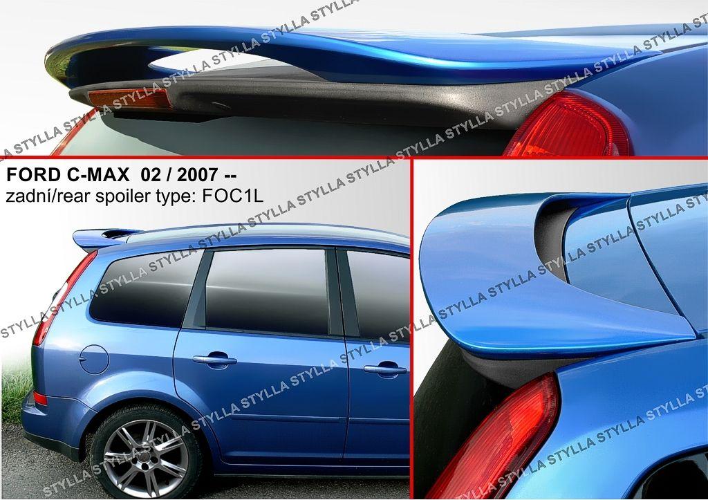 Spoiler zadných dverí horný, Ford C-MAX I, 2003-2010