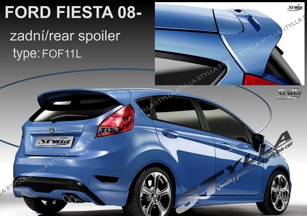 Spoiler zadných dverí horný, Ford Fiesta VI, 2008-2013