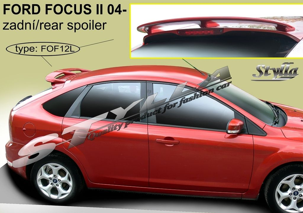 Spoiler zadných dverí horný, Ford Focus II, 2004-2011