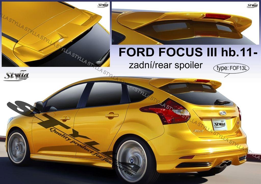 Spoiler zadných dverí horný, Ford Focus III, 2011-2018