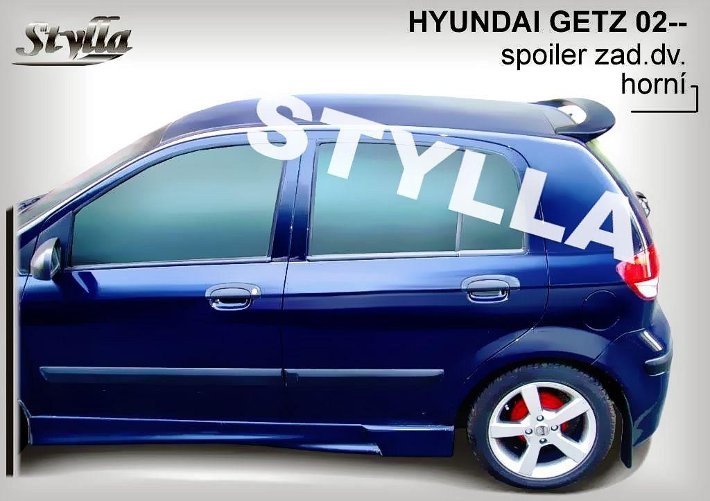 Spoiler zadných dverí horný, Hyundai Getz, 2002-2009