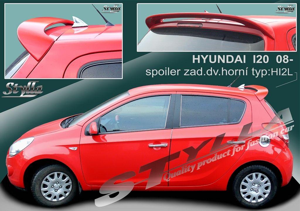 Spoiler zadných dverí horný, Hyundai i20 I, 2008-2014