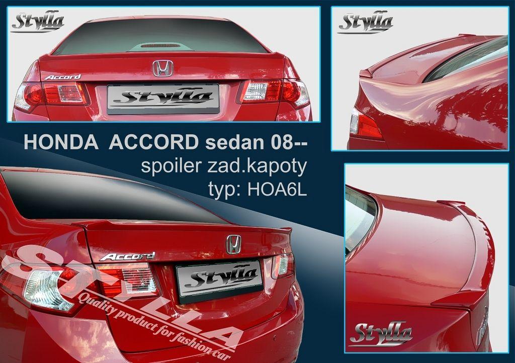 Spoiler na kapotu, Honda Accord VIII, 2008-2015