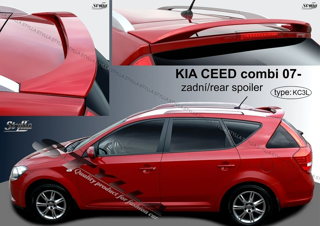 Spoiler zadných dverí horný, Kia Ceed I SW, 2006-2012