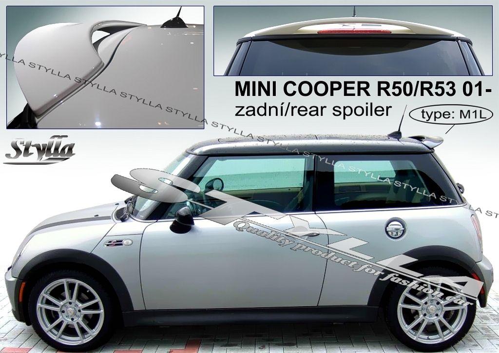 Spoiler zadných dverí horný, Mini Cooper I R50 R53, 2000-2006