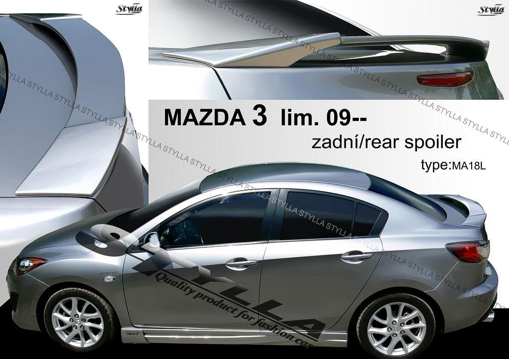 Spoiler na kapotu, Mazda 3 II, 2008-2014