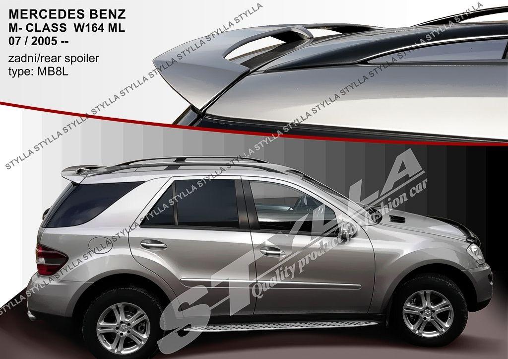 Spoiler zadných dverí horný, Mercedes Benz M-Class W164, 2005-2011