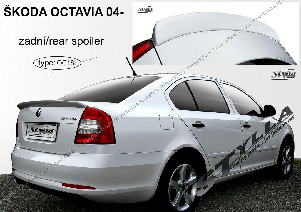Spoiler zadných dverí horný, Škoda Octavia II, 2004-2013