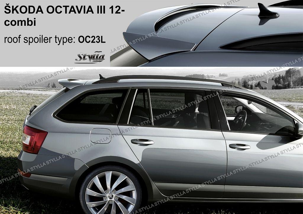 Spoiler zadných dverí horný, Škoda Octavia III, 2012-