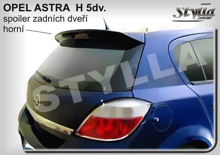 Spoiler zadných dverí horný, OPEL Astra H, 2004-2014, hatchback