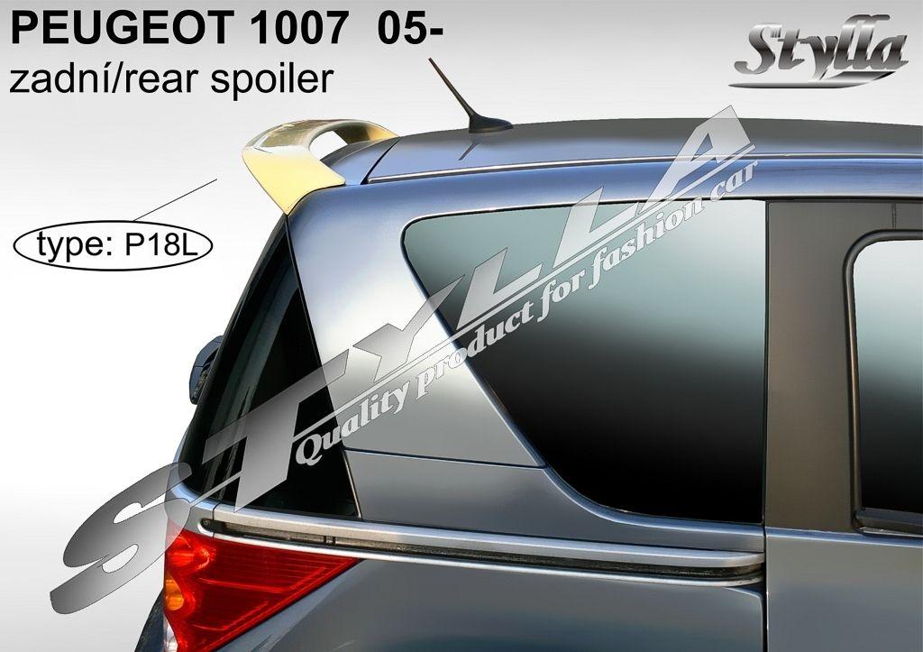 Spoiler zadných dverí horný, Peugeot 1007, 2004-2009