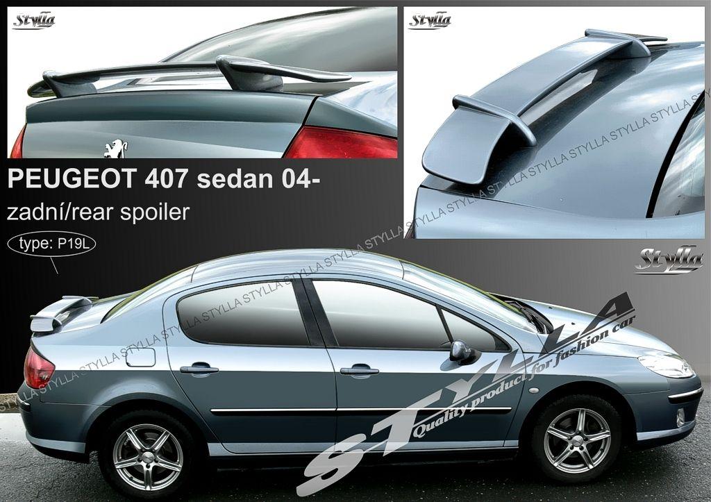 Spoiler na kapotu, Peugeot 407, 2004-2011