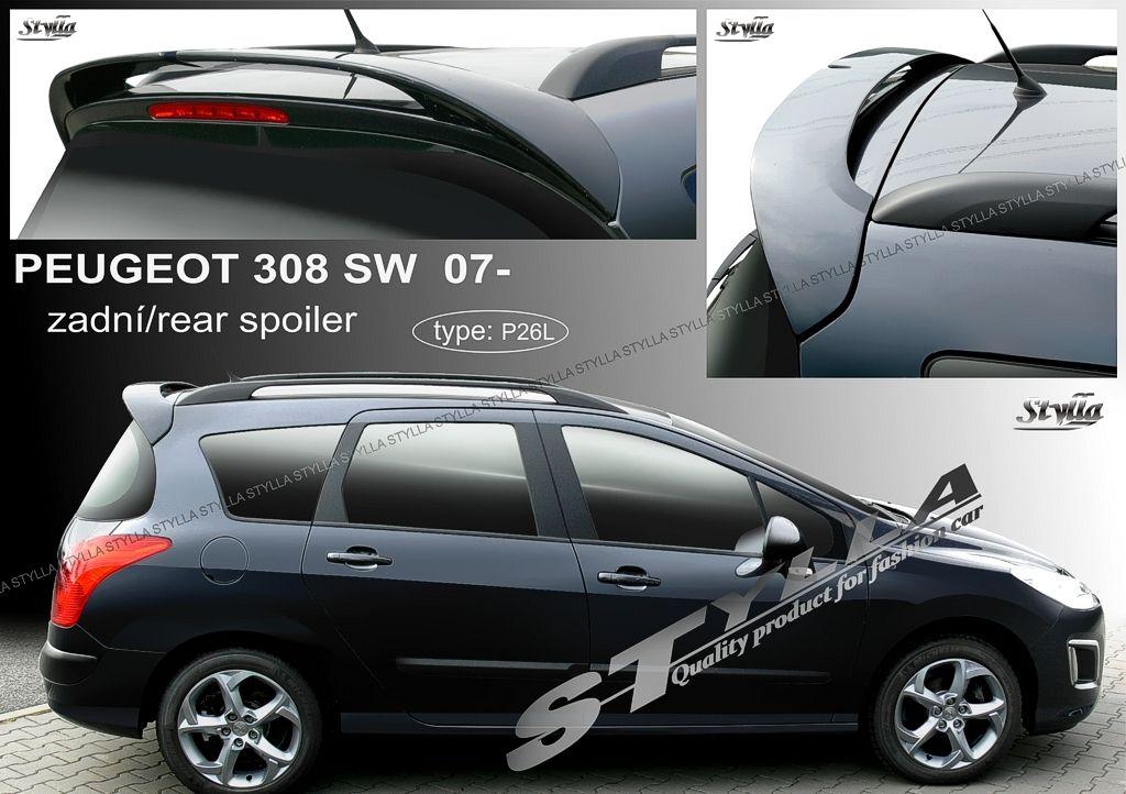 Spoiler zadných dverí horný, Peugeot 308 I SW, 2007-2013