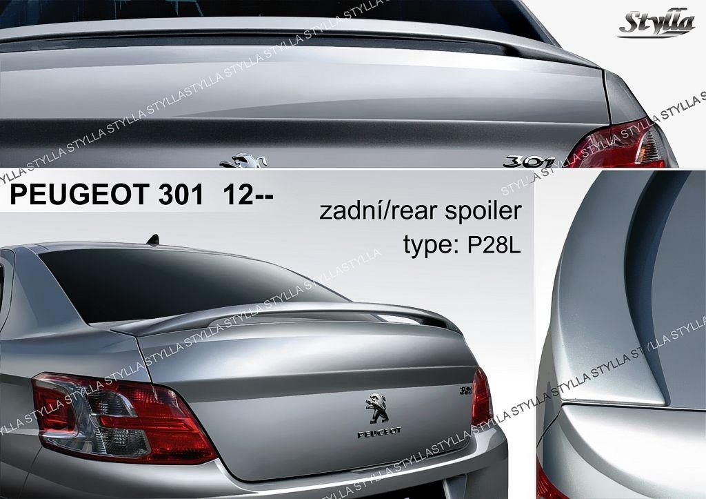 Spoiler na kapotu, Peugeot 301, 2012-