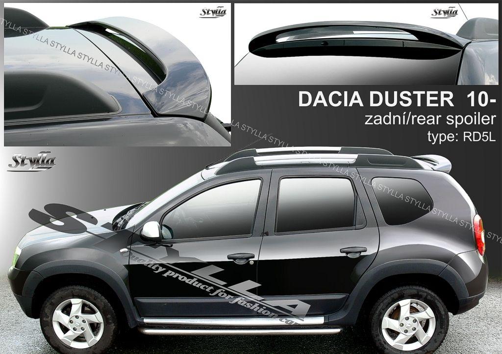 Spoiler zadných dverí horný, Dacia Duster I, 2010-2017