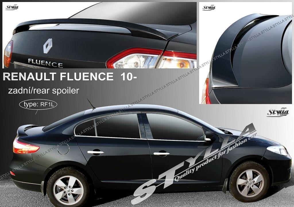 Spoiler na kapotu, Renault Fluence, 2009-2016