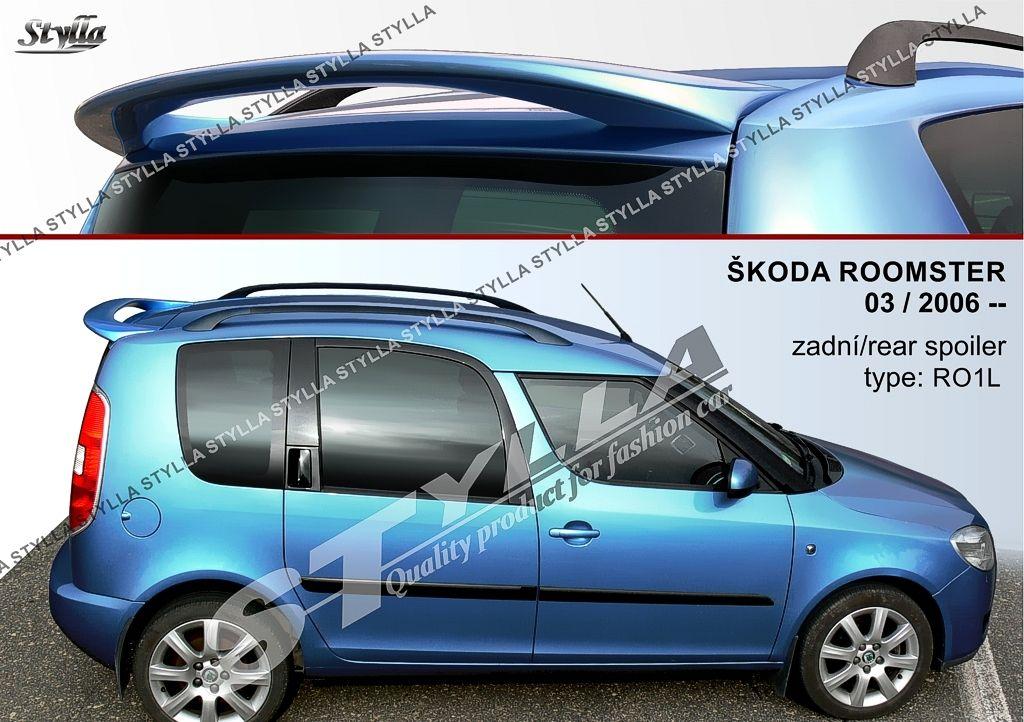 Spoiler zadných dverí horný, Škoda Roomster, 2006-2015