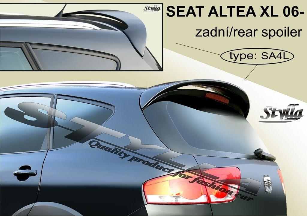 Spoiler zadných dverí horný, Seat Altea XL, 2006-2015