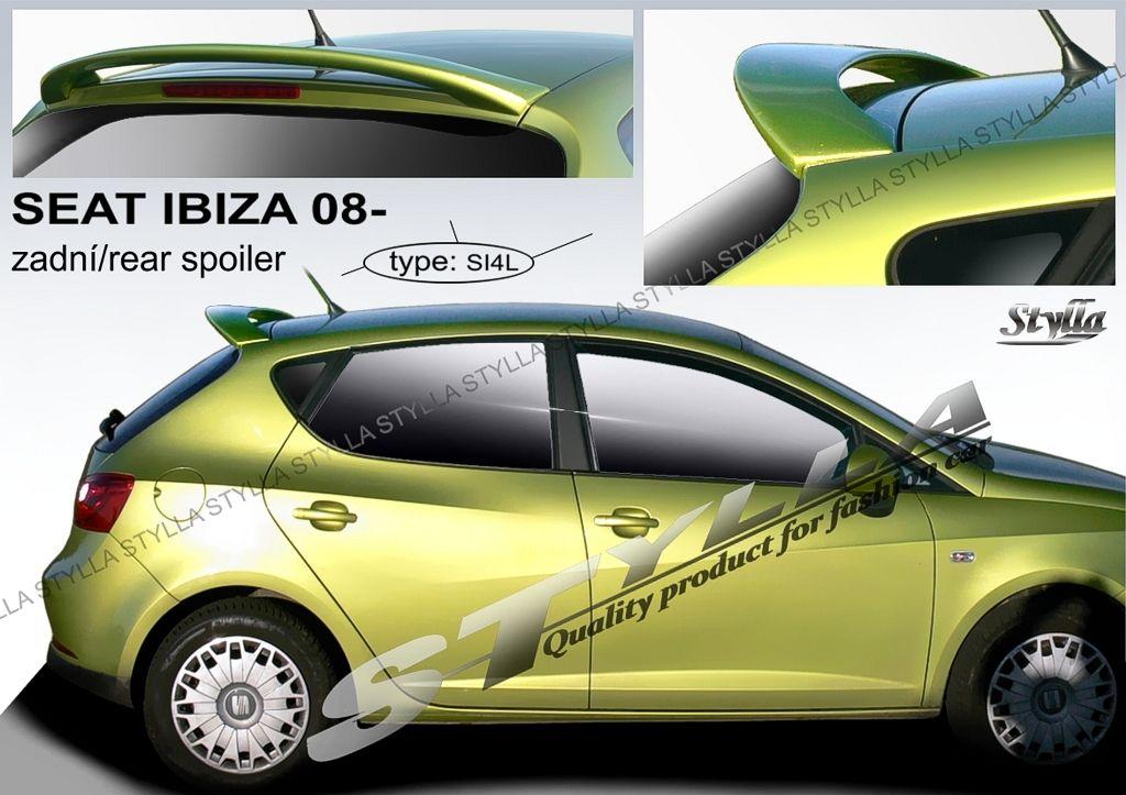 Spoiler zadných dverí horný, Seat Ibiza IV, 2008-2017