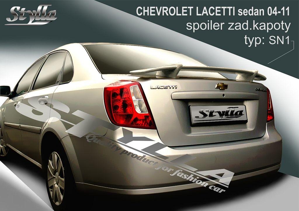 Spoiler na kapotu, Chevrolet Lacetti, 2005-2010