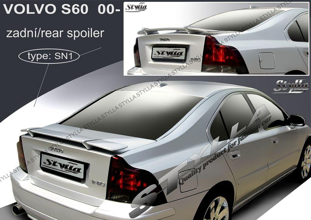 Spoiler na kapotu, Volvo S60 I, 2000-2010