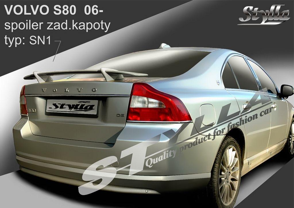 Spoiler na kapotu, Volvo S80 II, 2006-2016