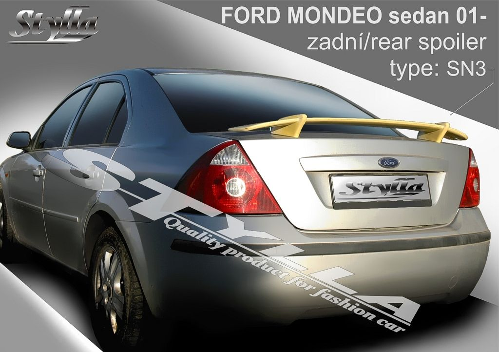 Spoiler na kapotu, Ford Mondeo III, 2000-2007
