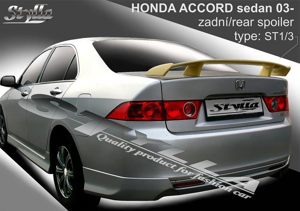 Spoiler na kapotu, Honda Accord VII, 2003-2008