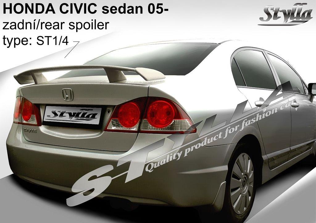 Spoiler na kapotu, Honda Civic VIII, 2006-2012