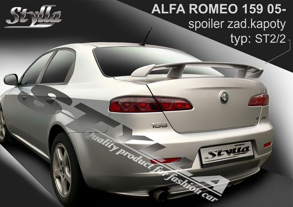 Spoiler na kapotu, Alfa Romeo 159, 2005-2011