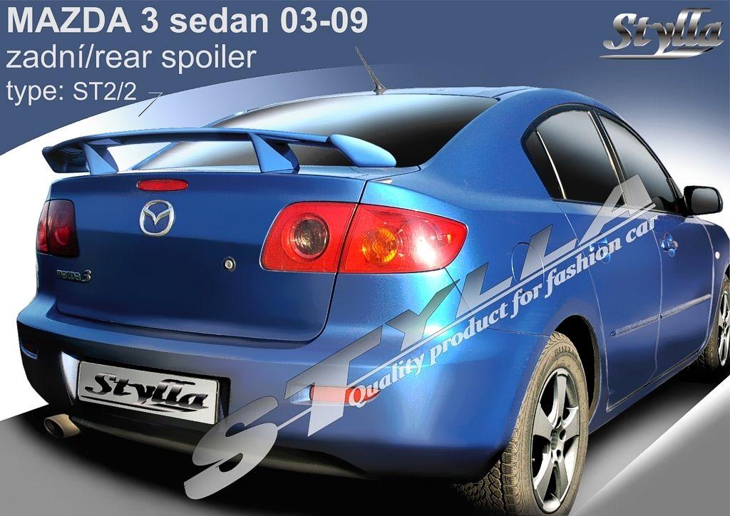Spoiler na kapotu, Mazda 3 I, 2003-2009
