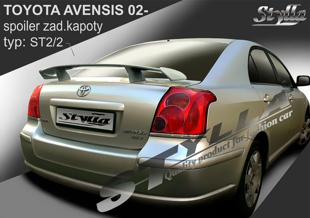 Spoiler na kapotu, Toyota Avensis II, 2003-2009